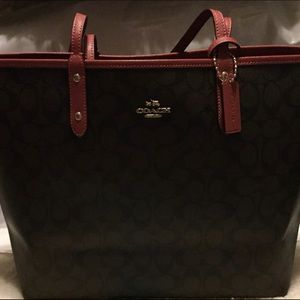 Coach Bags - Coach Reversible Tote & Matching Wallet NWT